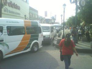 Calle Nicolás Bravo, municipio de Texcoco
