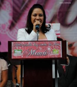 Mayra Anaya Aguilar, presidenta del DIF Acolman.