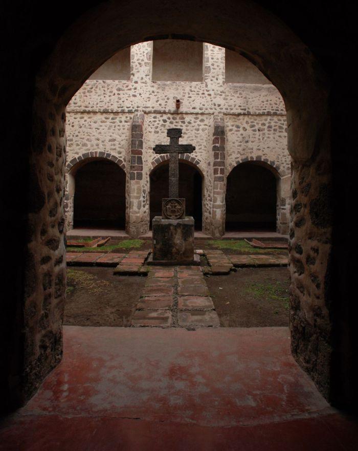 Ex convento de Acolman, EDOMEX. Foto Mauricio Marat. INAH.