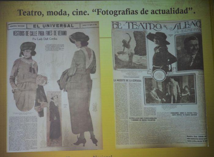 La moda marcó la foma en la que debía ser una mujer. Foto Edith Camacho