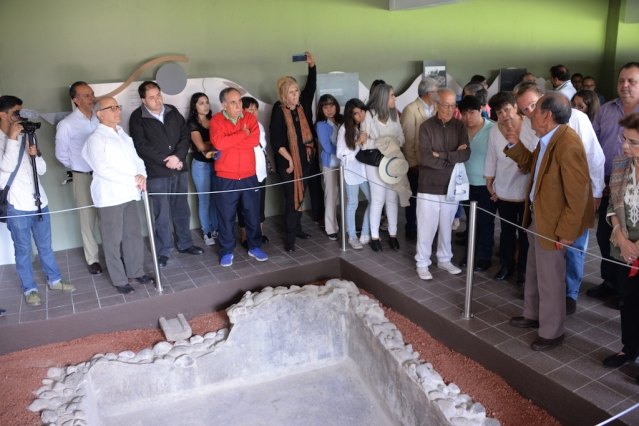 "Mixcoac, cuyo nombre en náhuatl significa ""donde se venera a la serpiente de nubes"", data de la época teotihuacana (400-600 d.C.).Foto Melitòn Tapia INAHJPG"