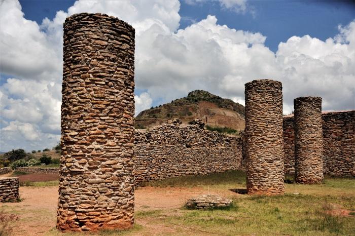La Quemada es una de las urbes prehispánicas más grandes del norte de México, junto con Paquimé, en Chihuahua, y Cerro de Trincheras, Sonora.Foto Mauricio Marat INAH (2)